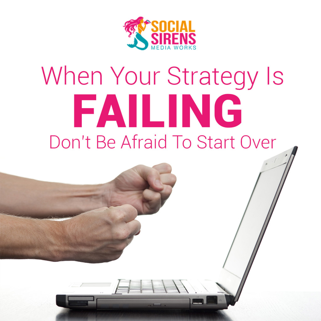 dare to change your strategy
