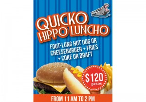 Quicko Luncho Poster