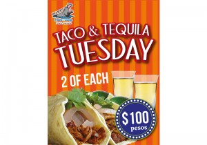 Taco Tuesday Poster
